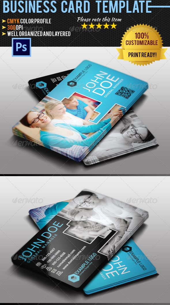 Education Business Card | Psd templates, Card templates and ...