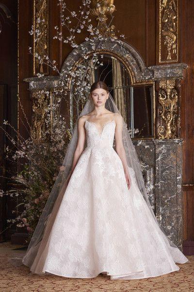 Brautkleider von Monique Lhuillier 2019 - Designs, von denen Sie ...
