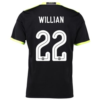 Chelsea Linear Away Shirt 16-17 with Willian 22 printing  Chelsea Away Shirt  16 3f8796a57