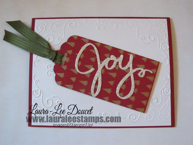 Quick Card using the Filigree Frame. www.lauraleestamps.com