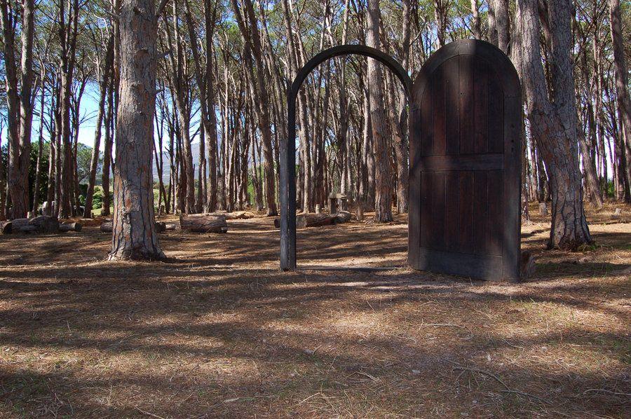 Door Way to the Forest Stock by StormsStock.deviantart