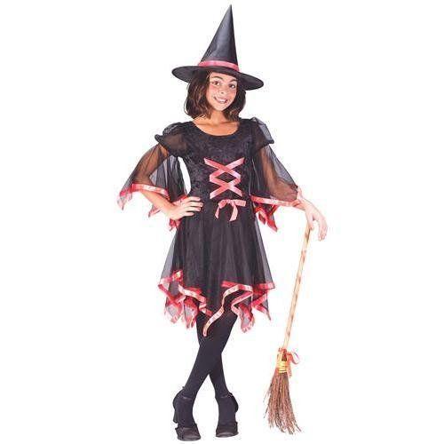 FunWorld Ribbon Witch Child Costume 46 BlackOrange