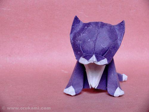 Shumakov_Origami_Kitten.jpg 500×375 pixels