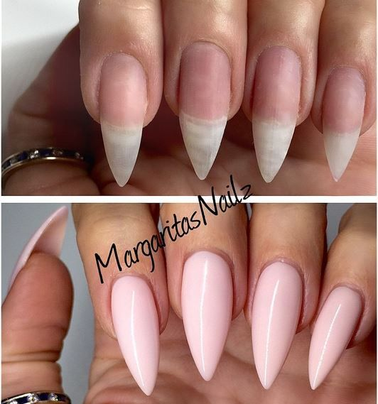 Stiletto Nails Shape Natural Pinterest Stilettos Shapes And