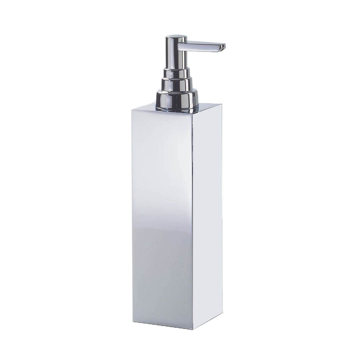 Harmony 407b Free Standing Soap Dispenser In Chrome Or Nickel