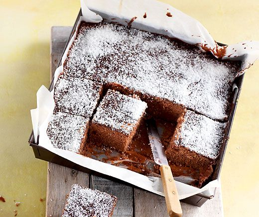 Kokos Schokolade Wurfel Rezept Food Drink Pinterest