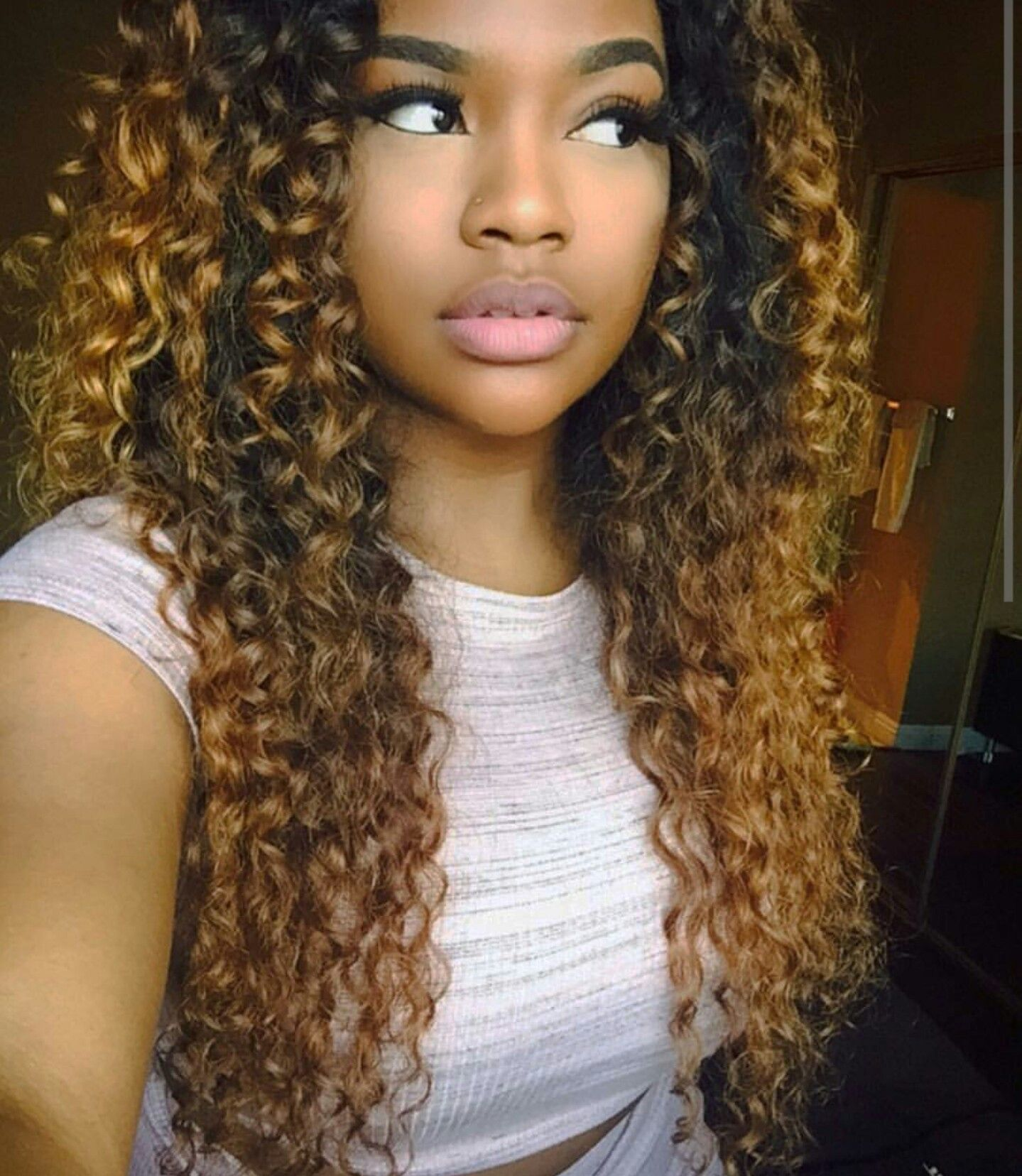 Pin By Kayla Roberts On Curly Mane Pinterest Lace Frontal Wig