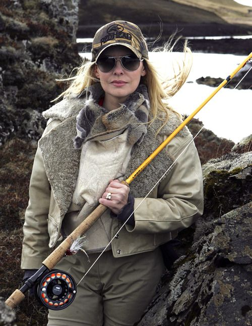 Fly fishing legends kathryn maroun the director producer for Women fly fishing