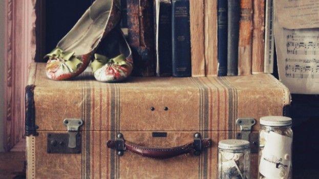 Vintage koffers als te gekke accessoire in je interieur
