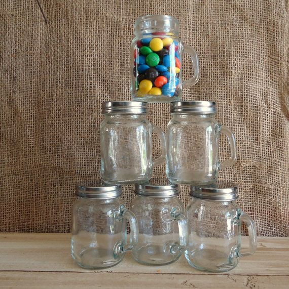 Small Mason Jars With Handles And Lids Mini Mason Jars Small Mason Jars Mason Jars With Handles