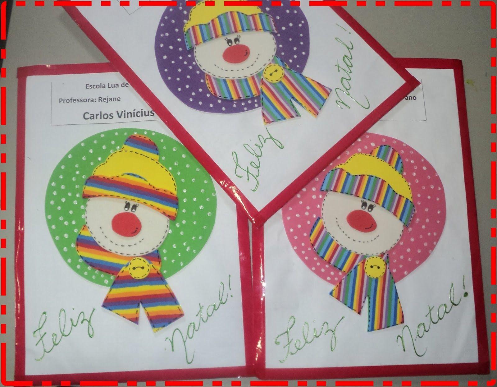 Atividades Cia Capas De Envelopes De Natal Educação Infantil Atividades Lúdicas Envelopes Atividades De Pintura