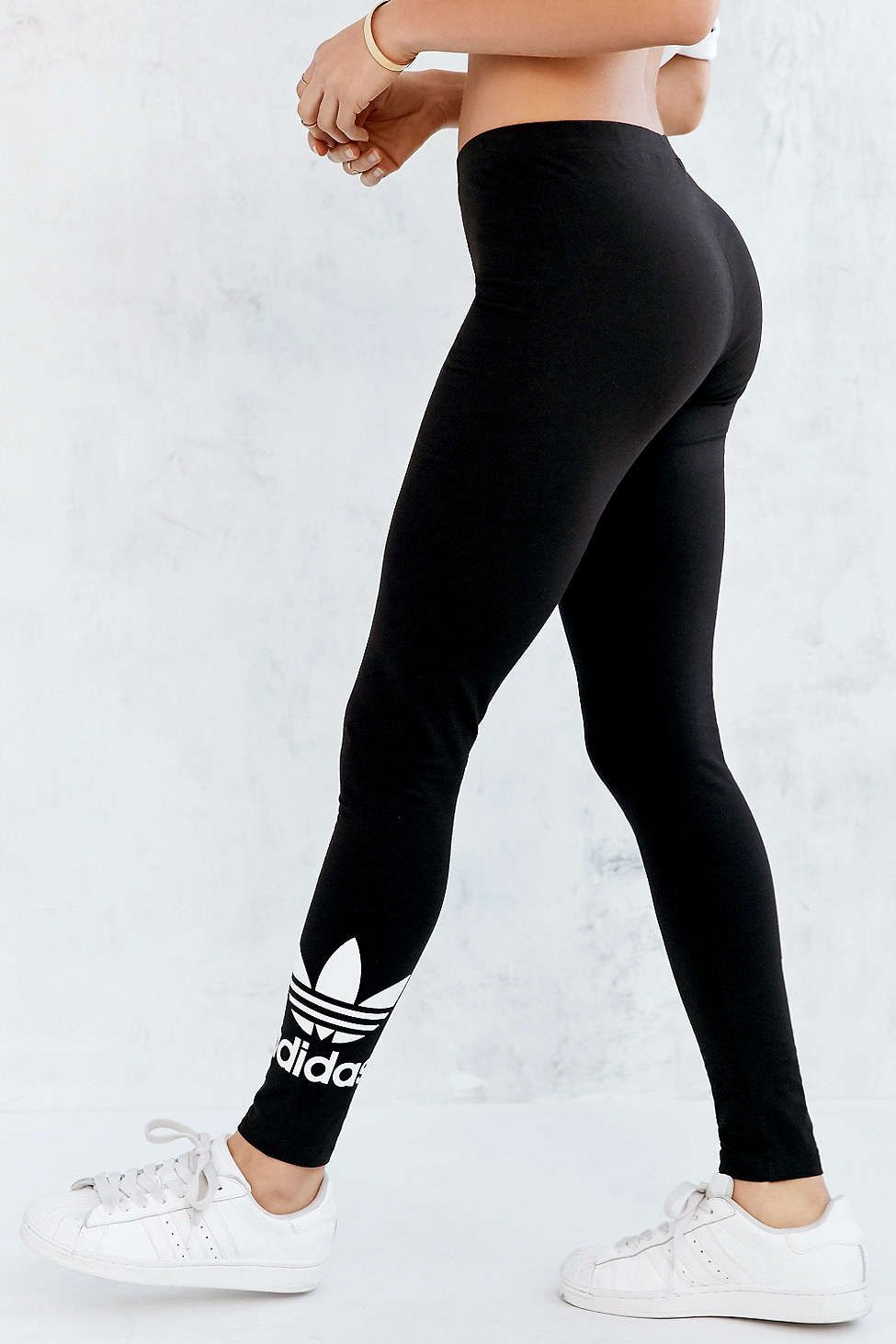adidas originals trefoil legging adidas urban outfitters and legs. Black Bedroom Furniture Sets. Home Design Ideas