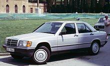 Mercedes 190 - W201 produzione dal 1983 al 1993
