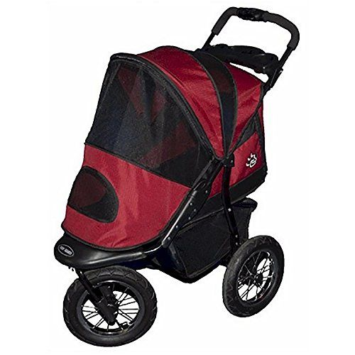 Jogger Pet Stroller Burgundy >>> Read more reviews of the