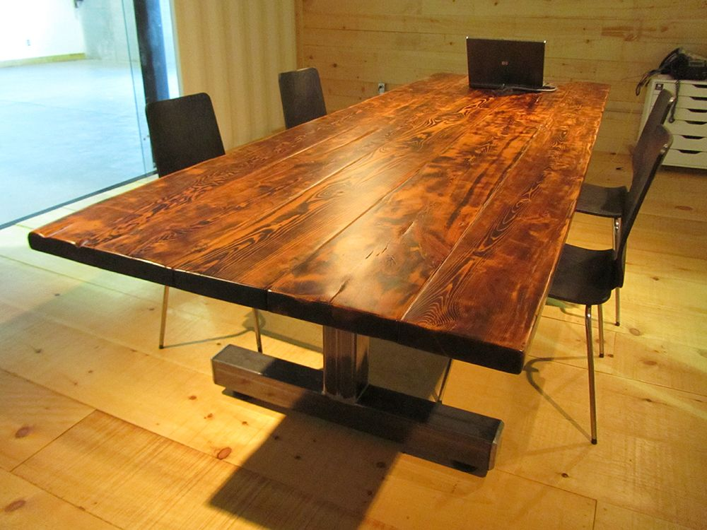 Related Image Office Space Pinterest Office Spaces And Spaces - Wood and metal conference table