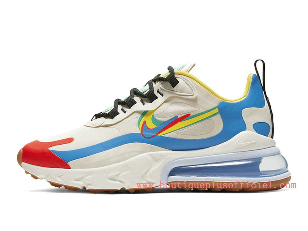Nike Air Max 270 React Chaussures Officiel Nike 2020 Pas