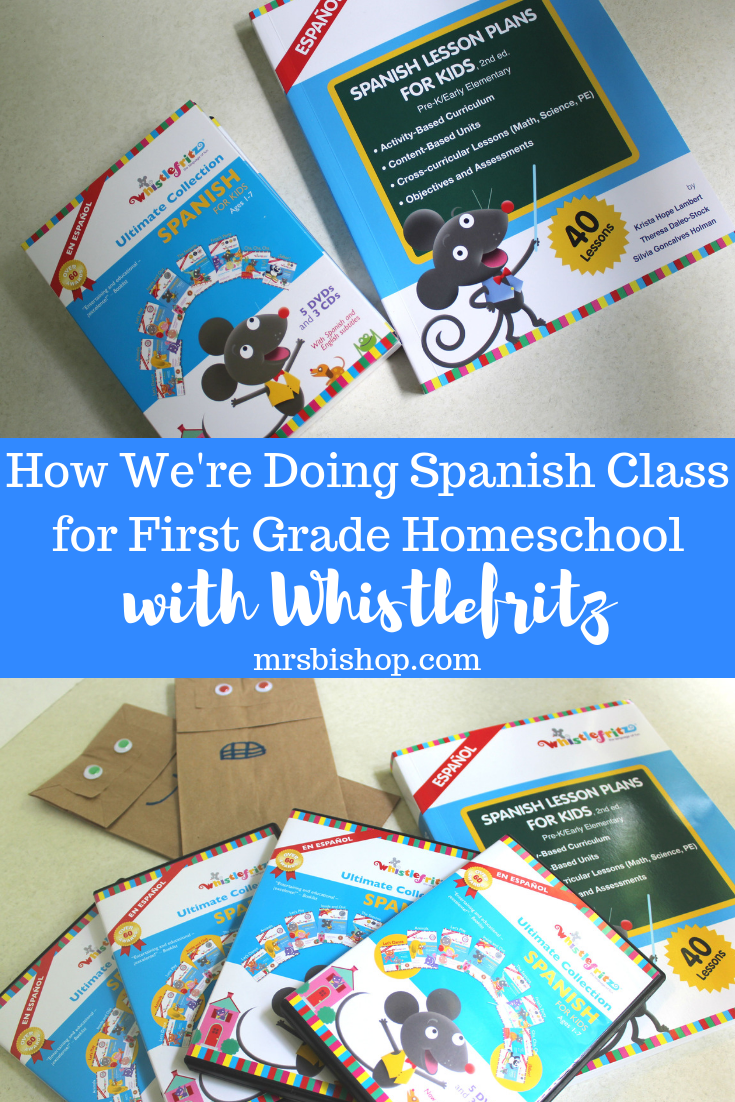 How Were Doing Spanish Class For First Grade With Whistlefritz