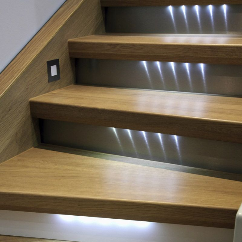 Attractive Lighted Stairway   Stair Supplies