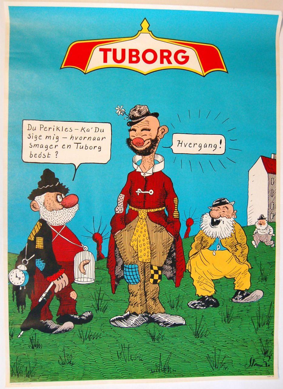 Tuborg Illustration Symboler Planscher