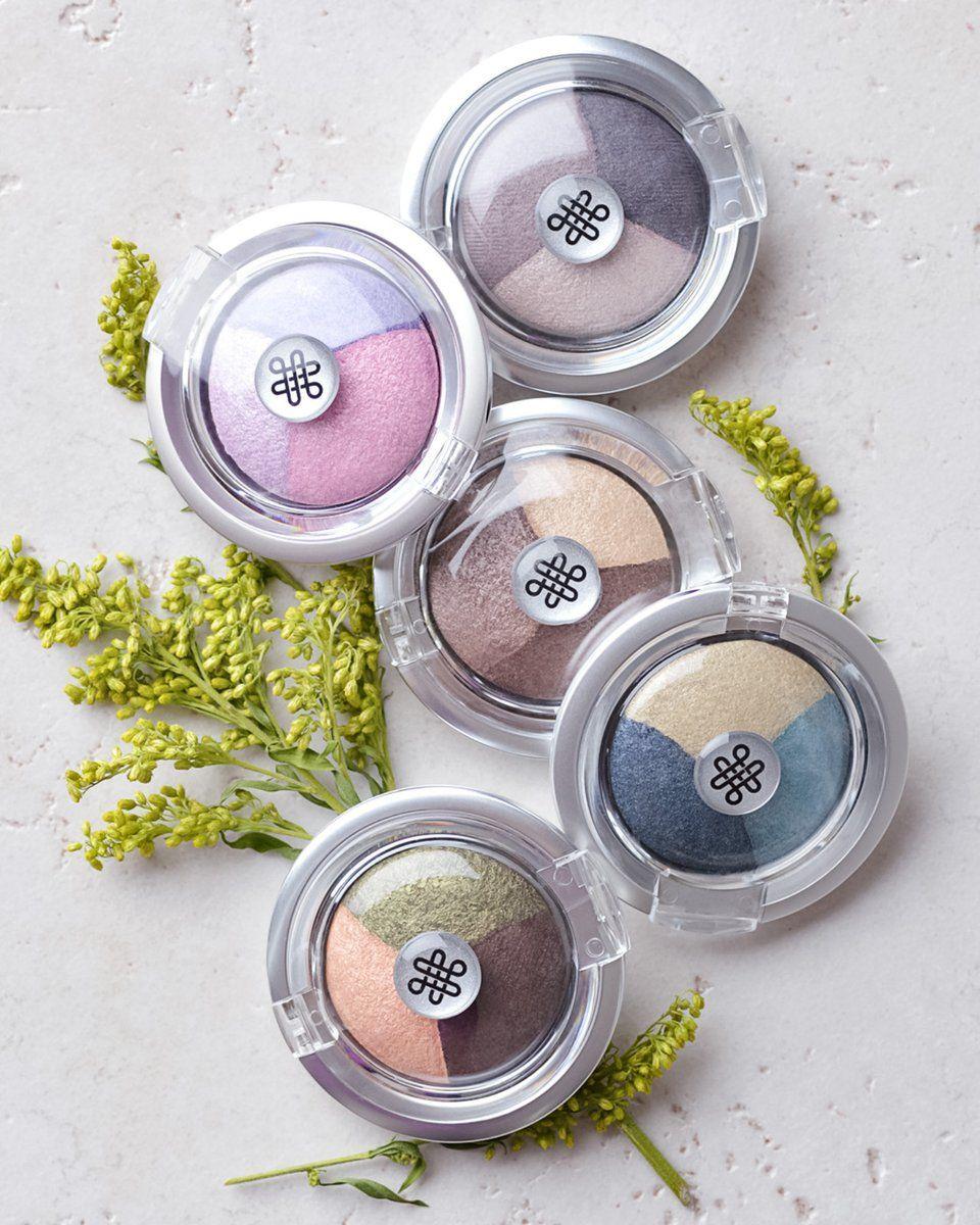 Pressed Mineral Eyeshadow Trios Titanium DioxideFree