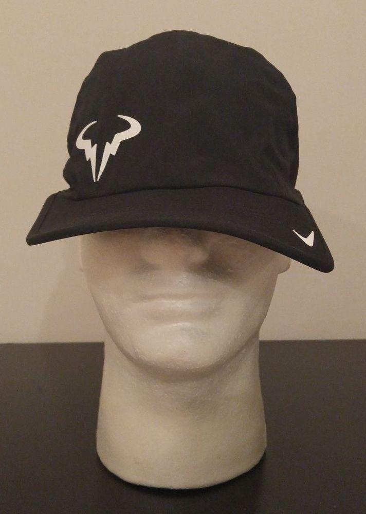 NEW Nike Dri-Fit Premier Rafa Nadal Bull Logo 2.0 Adjustable Tennis Hat  613966 346ed932b65