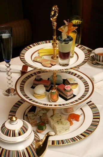 Champagne Afternoon Tea With A Fashion Twist, the Berkeley London