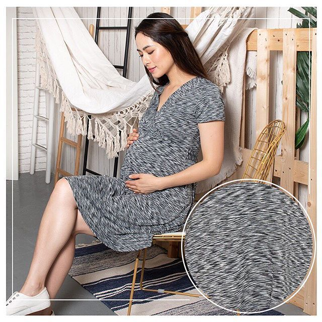 a36efbe5c50 You will love our CONLEY STRIPES EMPIRE NURSING DRESS that comes in our  favourite material. Not only is it super soft to the touch it is also super  stretchy ...