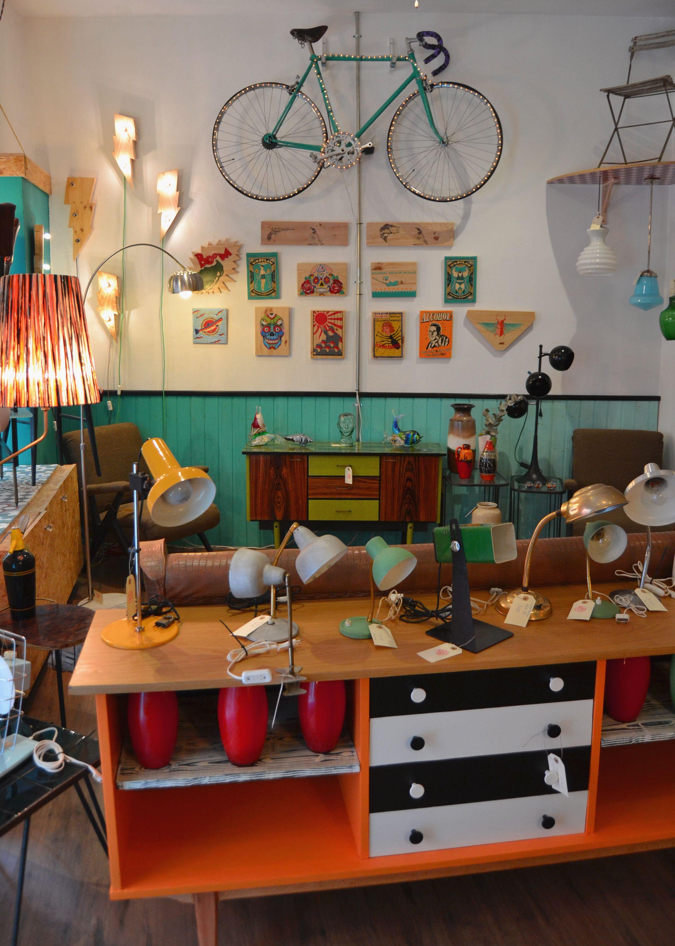 Flexeando iluminaci n retro vintage decoraci n furniture lamps decoration tienda - Centro reto madrid recogida muebles ...