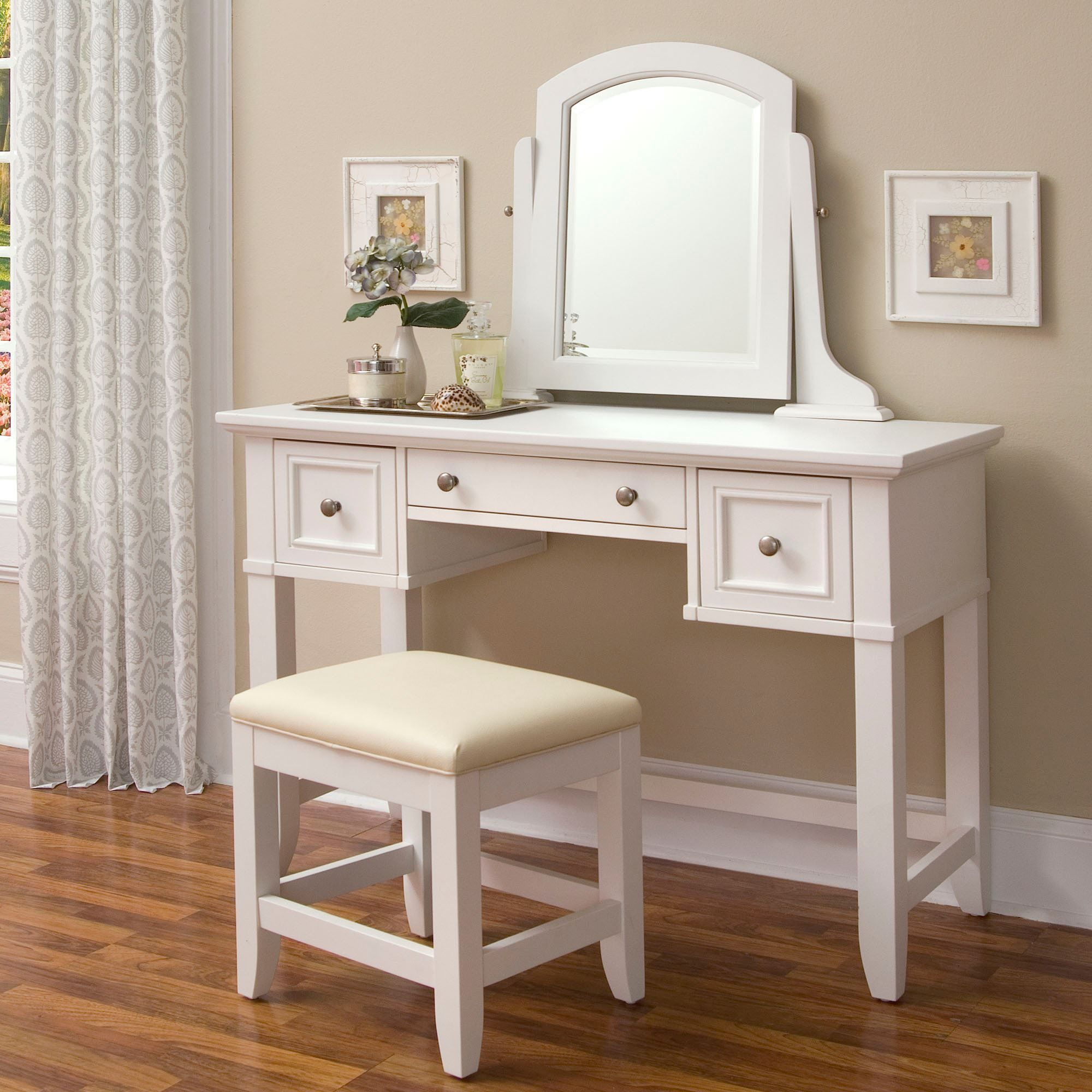 set mirror and vanity cherry products desk stool sets court teen dawn