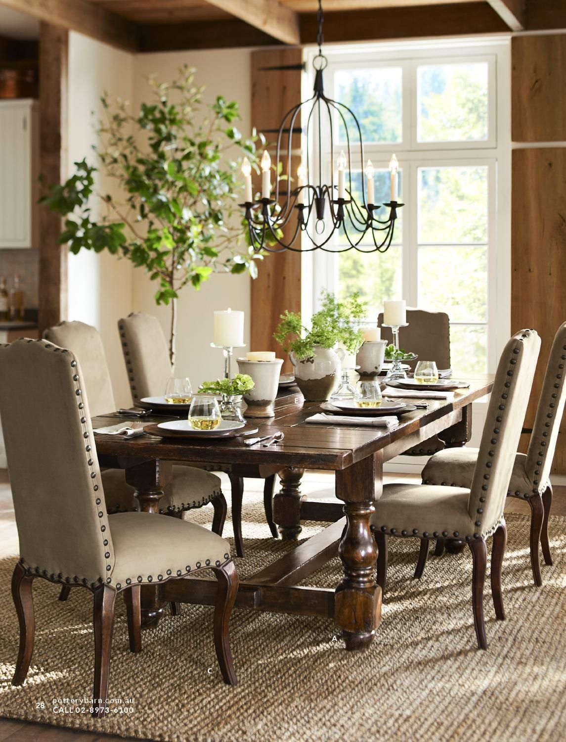 Pottery Barn Australia Summer 2013 Catalog Pottery Barn Dining Room Dining Room Design Dining Room Inspiration