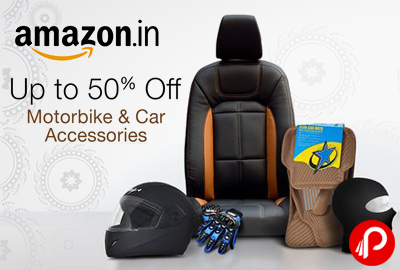 Amazon offers UPTO 50% off on MotorBike & Car Accessories like ...