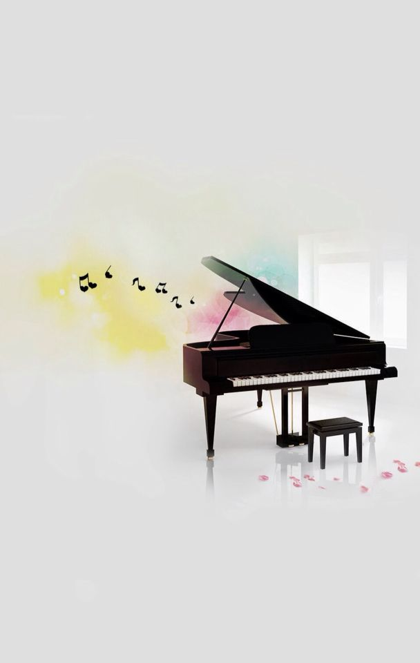 Cute Piano Background Music Wallpaper Piano Music Piano Art