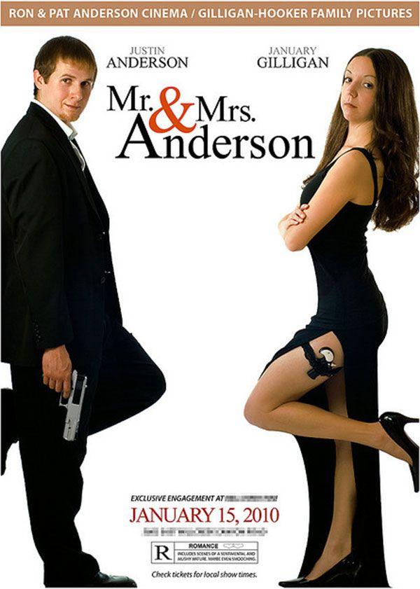 Mr And Mrs Wedding Invitation Wedding Gallery Pinterest - movie themed invitation template