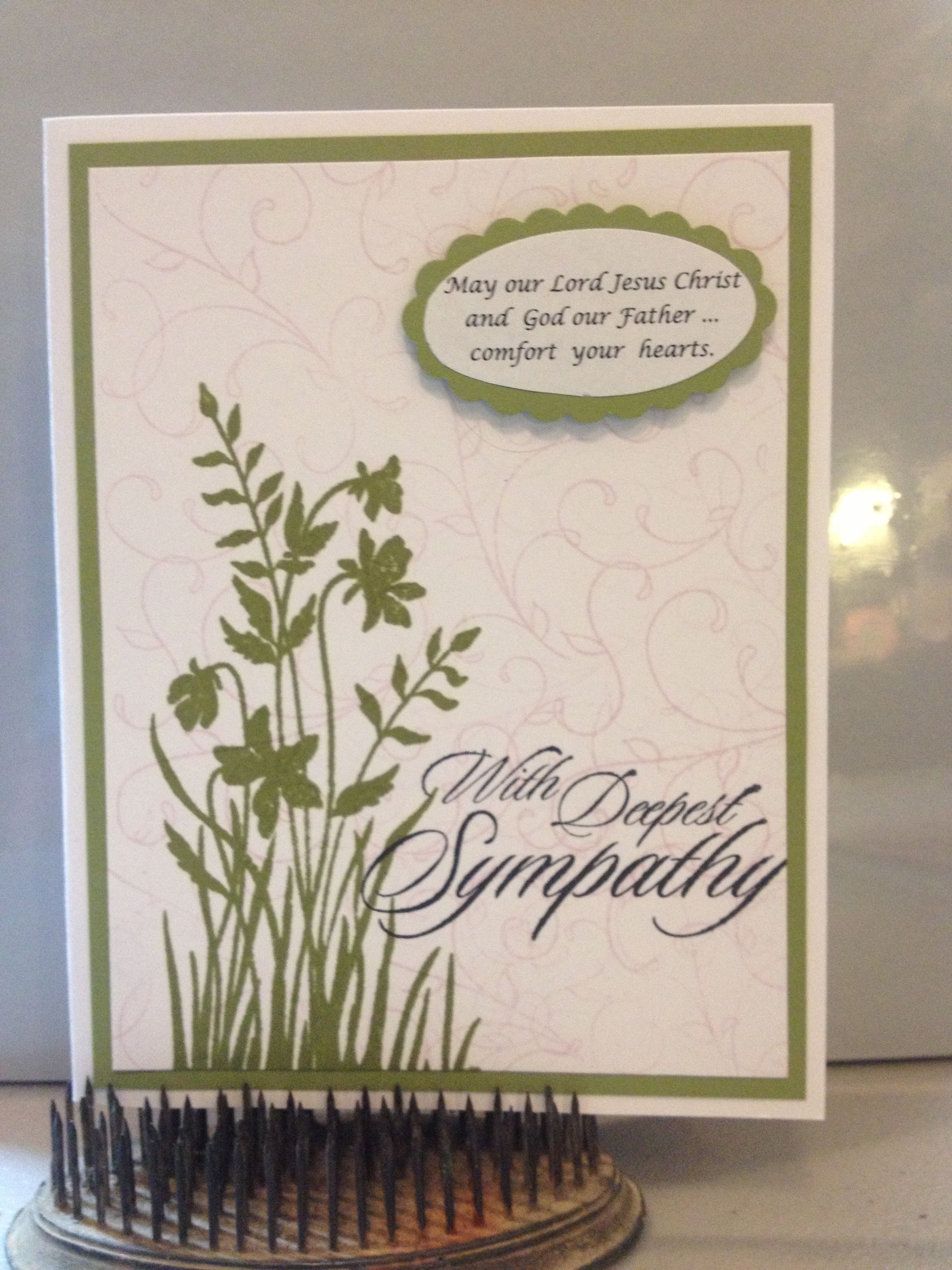 I Wanted A Nice Sympathy Card So I Designed This One Cards