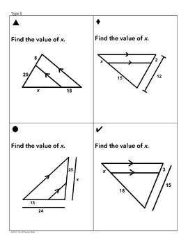 Triangle Similarity Sum Em Activity Teaching Geometry Simplifying Rational Expressions Proportions Worksheet