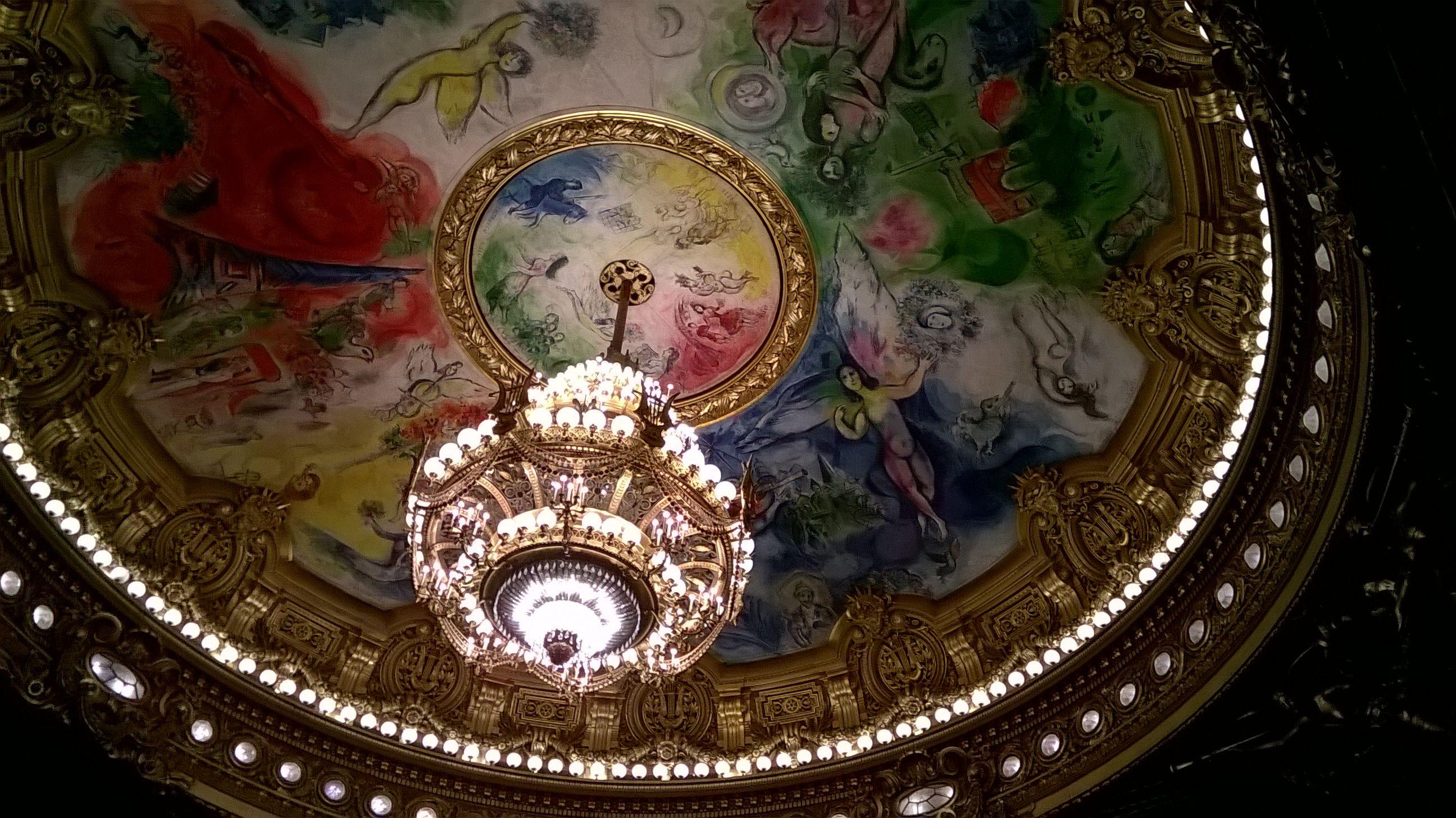 Interior of Palais Garnier, Paris