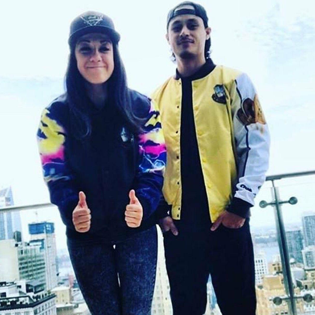 Wwe Superstar Bayley Pamela Martinez With Her Fiance Aaron Solow