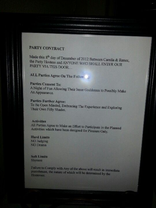 shades of grey pure r ce party contract this was in a frame 50 shades of grey pure r ce party contract this was in a frame outside the