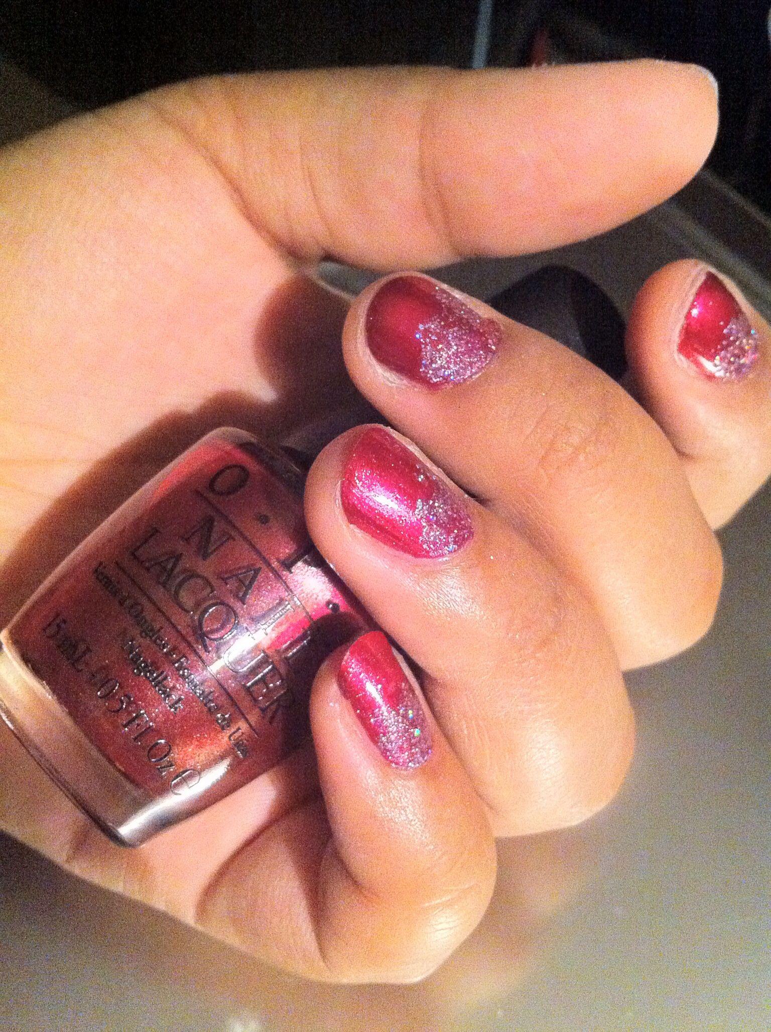 Embarca-Dare Ya #opi #opisf #nails #nailart #glitter