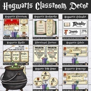 Wizards Classroom Decor Bundle