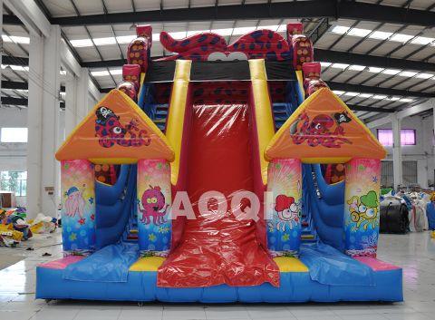 inflatable Octopus slide, inflatable water slides, inflatable slides for sale