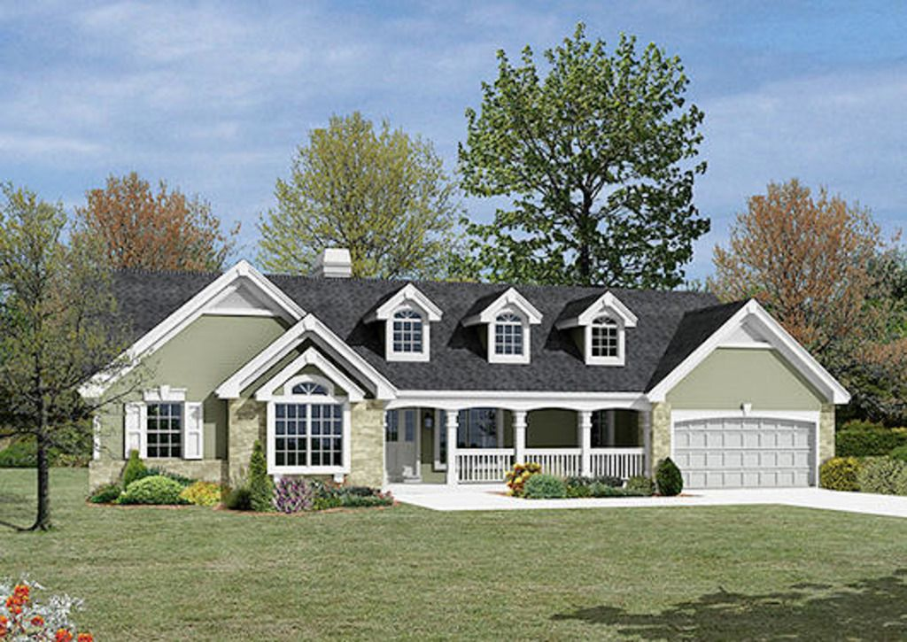 Ranch Style House Plan 3 Beds 2 Baths 1533 Sq Ft Plan 57 341 Ranch Style House Plans Ranch House Designs Ranch Style Homes