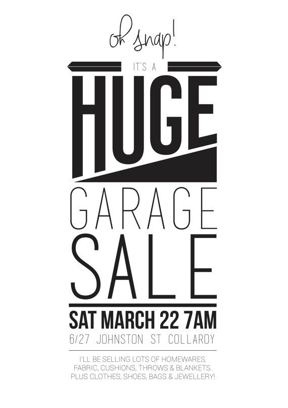 poster and flyer garage sale fun poster and or flyer to advertise
