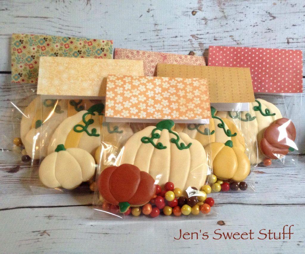 Fall pumpkin spice pumpkin cookies.