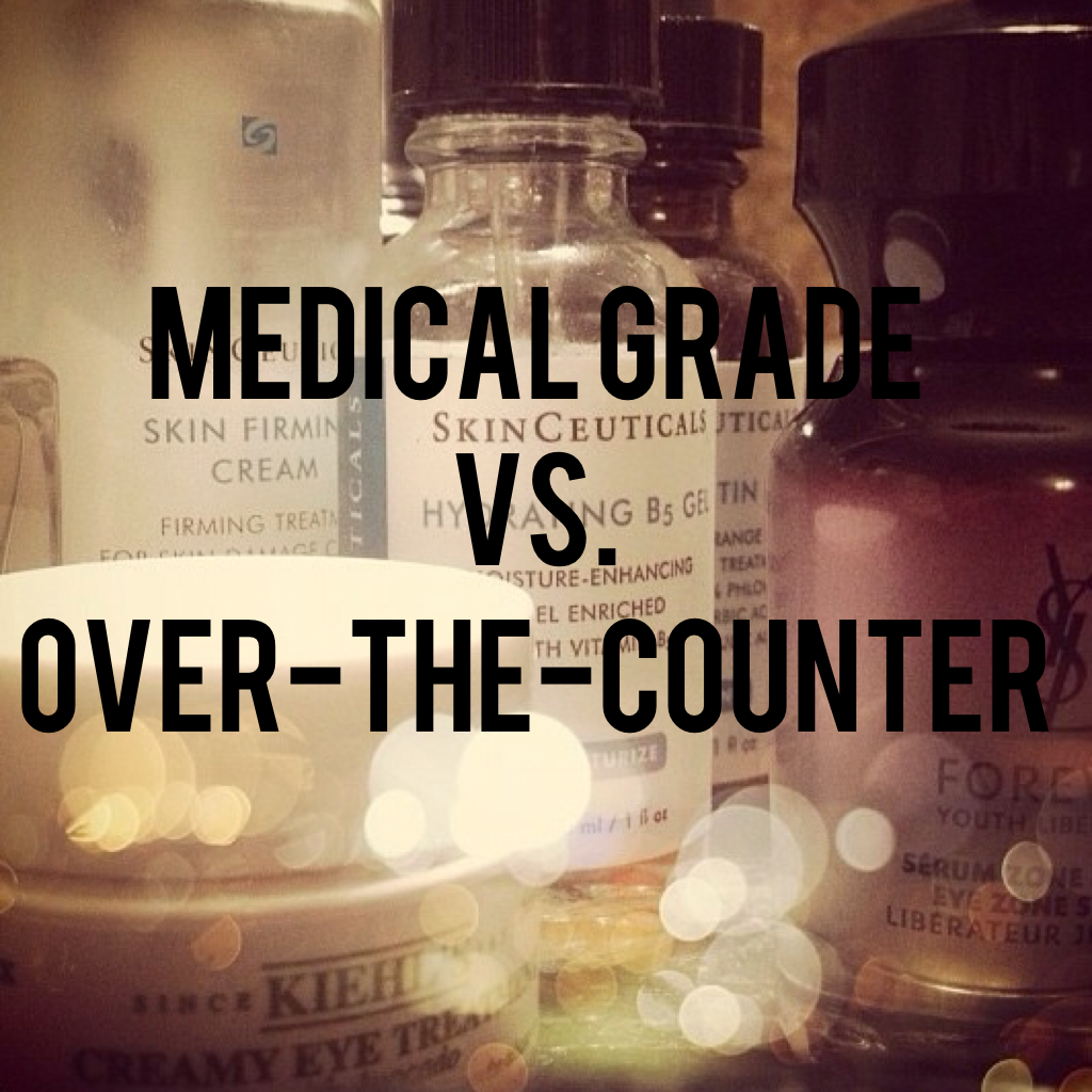 3 reasons you should chose Medical Grade Skincare products