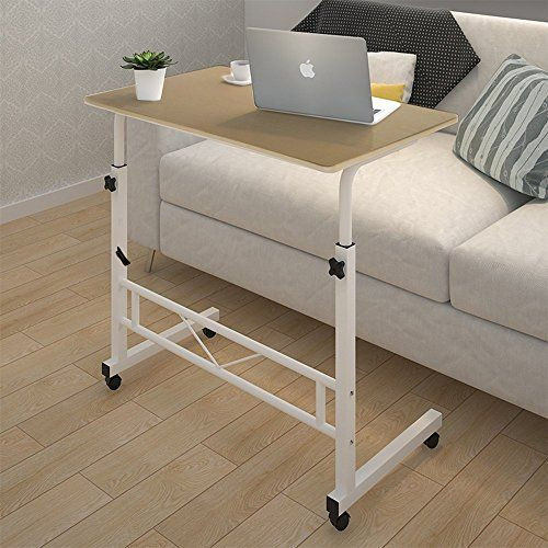 Tophomer Laptop Table Computer Stand Desk Movable Height Https Www Amazon Com Dp B0753c8v7w Ref Cm Sw R Pi Dp X 8e3 Simple Desk Sofa Side Table Furniture