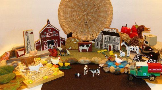 Farm Small World By Smartybydesign On Etsy Farm Toys