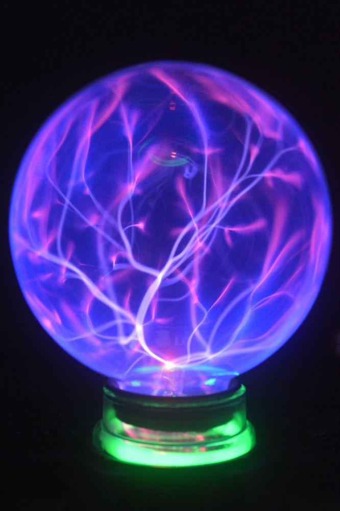 6 Music Motion Plasma Lighting Ball Party Lamp Static Lite Magic Blue Light New Light Wave Ball Lamps Plasma