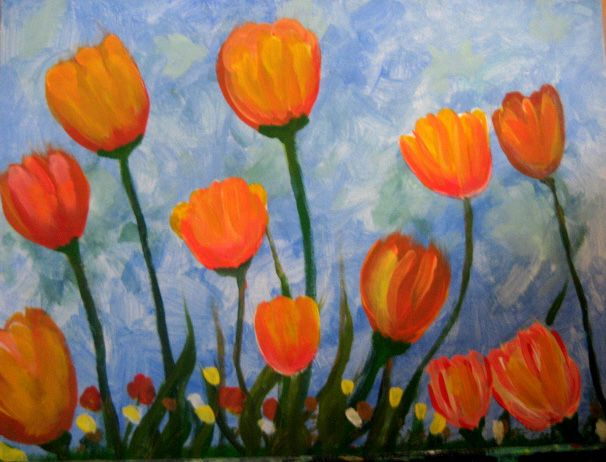 Easy Acrylic Paintings Displaying 19 Gallery Images For Easy