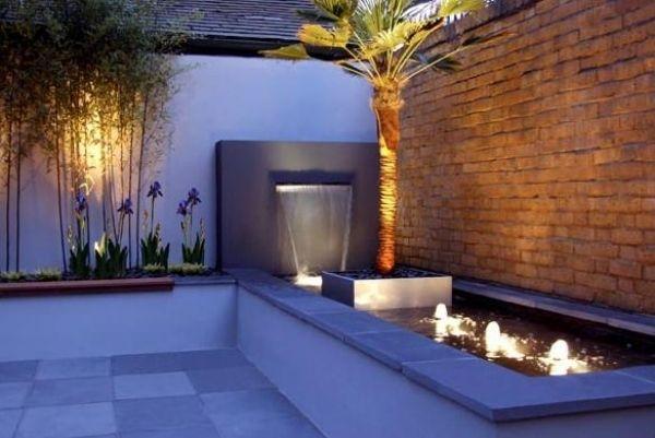 31 Schöne Ideen Für Wasserspiele Im Garten   Echte Oase Für Die Sinne